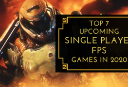 upcoming single first person shooter games