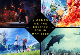 upcoming games in may