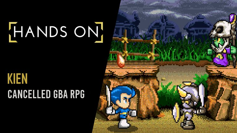 Kien Hands On With The Cancelled Gba Rpg Gaming Purists